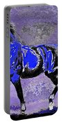 Mysterious Stallion Abstract Portable Battery Charger
