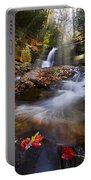 Mystical Pool Portable Battery Charger by Debra and Dave Vanderlaan