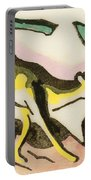 Mythical Animal  Portable Battery Charger by Franz Marc