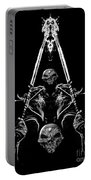 Mythology And Skulls 2 Portable Battery Charger