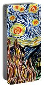 Vincent Van Goghs Starry Night Portable Battery Charger
