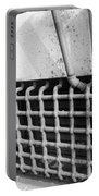 N Y C Grates In Black And White Portable Battery Charger
