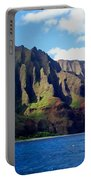 Na Pali Coast On Kauai Portable Battery Charger