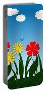 Naive Nature Scene Portable Battery Charger