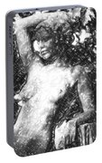 Naked Woman Portable Battery Charger
