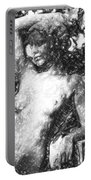 Naked Woman Portable Battery Charger by Tommytechno Sweden