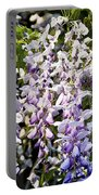 Nancys Wisteria Cropped Db Portable Battery Charger