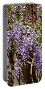 Nancys Wisteria Db Portable Battery Charger