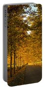 Napa Valley Fall Portable Battery Charger by Bill Gallagher