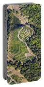 Napa Valley From Above Portable Battery Charger