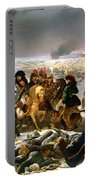 Napoleon On The Battlefield Of Eylau Portable Battery Charger