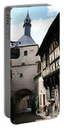 Narrow Alley In Bourbon Lancy Portable Battery Charger