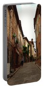 Narrow Street In Provence Portable Battery Charger