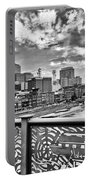 Nashville From The Shelby Bridge Portable Battery Charger