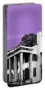Nashville Skyline Belle Meade Plantation - Violet Portable Battery Charger