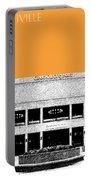 Nashville Skyline Grand Ole Opry - Orange Portable Battery Charger