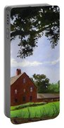 Nathan Hale Homestead Coventry Connecticut Portable Battery Charger