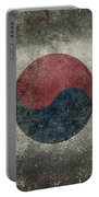National Flag Of South Korea Desaturated Vintage Version Portable Battery Charger