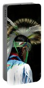 Native American Boy Portable Battery Charger
