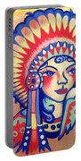 Native Girl Portable Battery Charger
