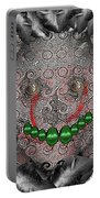 Native Indian Skull Art Portable Battery Charger