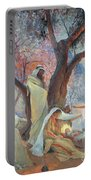 Nativity Portable Battery Charger by Frederic Montenard