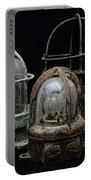 Natuical - Vintage Ship Deck Lights Portable Battery Charger