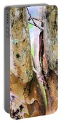 Natural Abstract Crepe Mertle Portable Battery Charger