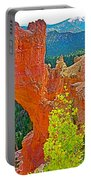 Natural Bridge In Bryce Canyon National Park-utah  Portable Battery Charger