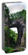 Natural Bridge In Rockbridge County Virginia Portable Battery Charger
