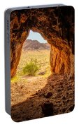Natural Cave Above The Valley Of Fire Portable Battery Charger