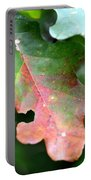 Natural Oak Leaf Abstract Portable Battery Charger