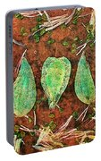 Nature Abstract 16 Portable Battery Charger
