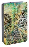 Nature Abstract 19 Portable Battery Charger