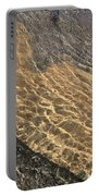 Nature Abstract - Clear Lake Tahoe Water  Portable Battery Charger