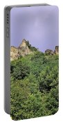 Nature And Medieval Ruins Portable Battery Charger