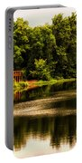 Nature Center Salt Creek In August Portable Battery Charger