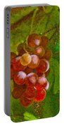 Nature Goodness Grapes On The Vine Portable Battery Charger