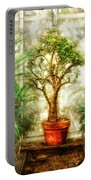 Nature - Plant - Tree Of Life  Portable Battery Charger by Mike Savad