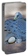 Bird Laying Egg Portable Battery Charger