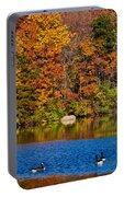 Natures Colorful Autumn Portable Battery Charger