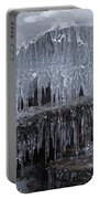 Natures Frozen Cathedral Sculpture Portable Battery Charger