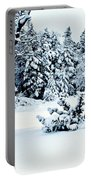 Natures Handywork - Snow Storm - Snow - Trees 2 Portable Battery Charger