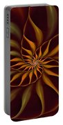 Nautilus Fractalus Tropical Portable Battery Charger