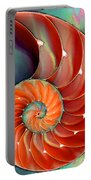 Nautilus Shell - Nature's Perfection Portable Battery Charger