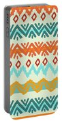 Navajo Missoni I Portable Battery Charger