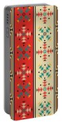 Navajo Style Pattern Portable Battery Charger