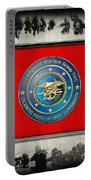 Naval Special Warfare Group Two - N S W G-2 - Over Navy S E A Ls Collage Portable Battery Charger
