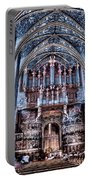 Nave Organ And Paintings Of Saint Cecile Portable Battery Charger