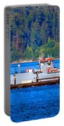 Navy Cover Portable Battery Charger